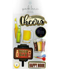 3D Cheers Stickers