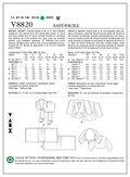 Mccall Pattern V8820 Y (Xsm-Sml-Vogue Pattern