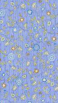 IMAN Home Print Fabric 54\u0022-Radiant Trail/Lapis