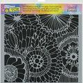 The Crafter\u0027s Workshop Marlene 12\u0027\u0027x12\u0027\u0027 Template-Botanical Dream