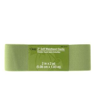 Dritz 2'' Soft Waistband Elastic-Green