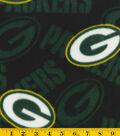 Green Bay Packers Fleece Fabric 58\u0022-Logo