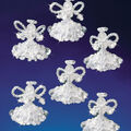 Holiday Beaded Ornament Kit-Crystal Angels 2\u0022 Makes 6