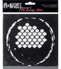 49 and Market Laser Cut Shapes Archival Board-Remember Today Black