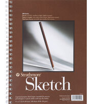 """Strathmore Spiral Sketchbook 11""""x14"""", , hi-res"""