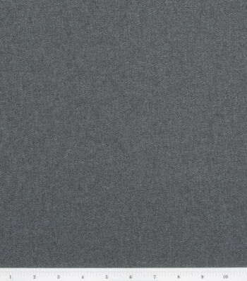 Sew Classics Suiting Fabric -Charcoal
