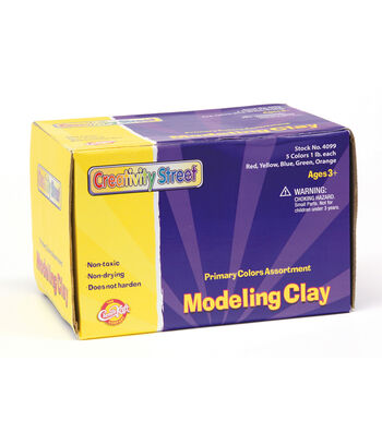 Creativity Street Modeling Clay, Primary Color Assortment, 5 lb.
