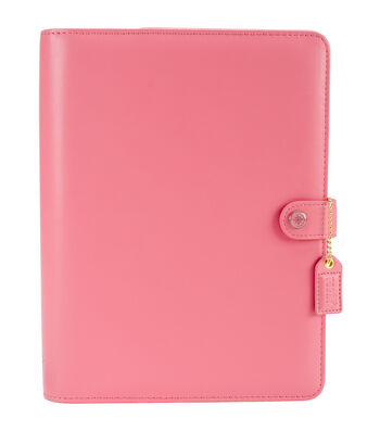 Webster's Pages Color Crush A5 Faux Leather Planner Kit-Light Pink