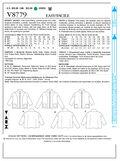 Mccall Pattern V8779 F5 (16-18--Vogue Pattern