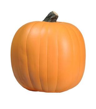 Fun-Kins Halloween 9'' Carvable Pumpkin-Orange