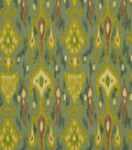 Home Decor 8\u0022x8\u0022 Fabric Swatch-Print Fabric Robert Allen Khanjali Peacock