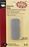 Reflective Tabs .75\u0022X2\u0022 6/Pkg-