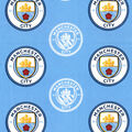 Manchester City Football Club Cotton Fabric
