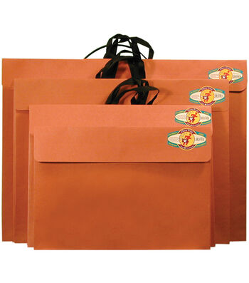 """Star Products 14""""x20"""" Red Rope Paper Portfolio"""