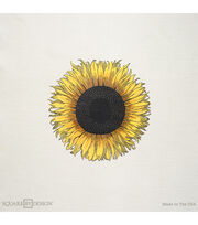 """Square By Design-Sunflower 25"""" Woven Square, , hi-res"""