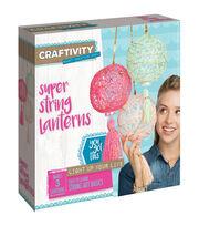 Creativity for Kids CRAFTIVITY Super String Lanterns Kit, , hi-res