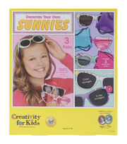 Creativity for Kids Make Your Own Sunnies Kit, , hi-res