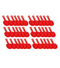 SI Manufacturing Mini Red Shovel, Pack of 36