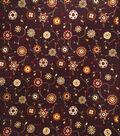 Home Decor 8\u0022x8\u0022 Fabric Swatch-Print Fabric Eaton Square Advocate Cinnamon