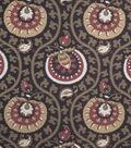Home Decor 8\u0022x8\u0022 Fabric Swatch-Print Fabric Eaton Square Item Cranberry