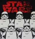 Star Wars VIII No Sew Fleece Throw 48\u0022-The Last Jedi Stromtroopers