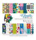 American Crafts Shimelle Box of Crayons 6\u0027\u0027x6\u0027\u0027 Single-sided Paper Pad