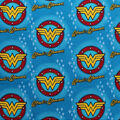 DC Comics Flannel Fabric-Wonder Woman Logos