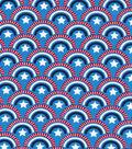 Patriotic Fabric-Bunting Stars
