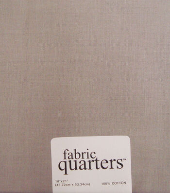 Fabric-Quarters Cotton Fabric-Solids Gray