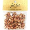 Fab Lab Craft 48 pk 0.5\u0027\u0027 Jingle Bells-Copper