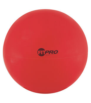 FitPro Training & Exercise Ball, 65cm, Red