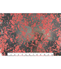Keepsake Calico Cotton Fabric 43\u0027\u0027-Coral & Metallic Crackle