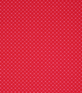 Valentine's Day Fabric 43''-Red Heart Dots