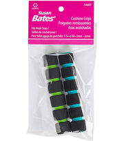 Susan Bates 2 pk 0.63''x3.5'' Crochet Hook Cushion Grips, , hi-res