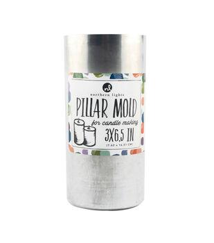 "Northern Lights Candle Making 3""x6.5"" Pillar Mold"