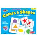 TREND enterprises, Inc. Colors & Shapes Match Me Games