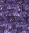 Wide Flannel Fabric -Purple Blender