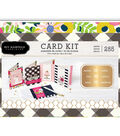 Jen Hadfield My Bright Life Card Kit-Makes 30, W/Gold Foil Accents