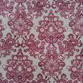 Anti-Pill Plush Fleece Fabric-Regal Gray Floral