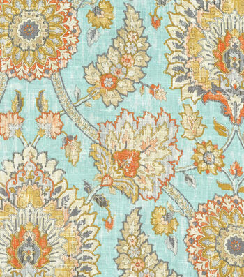 "Waverly Multi-Purpose Decor Fabric 54""-Bartlett Place Opal"