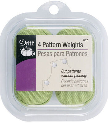 Prym Dritz Pattern Weights Green, Pink & Purple