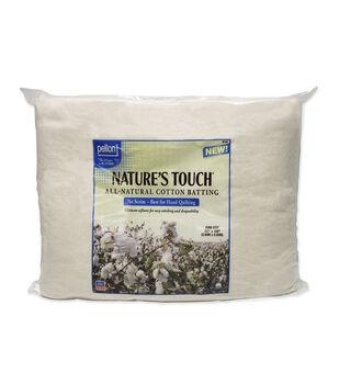Pellon Natures Touch Natural Cotton King Batting 120X120
