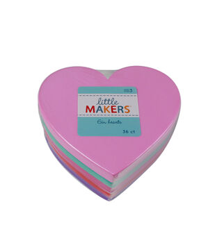 Little Makers 36Pc 6'' Value Pack-Hearts