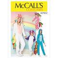 McCall\u0027s Pattern M7852 Misses\u0027 Costume-Size S-M-L-XL