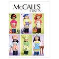 McCall\u0027s Crafts Doll Clothes-M6451