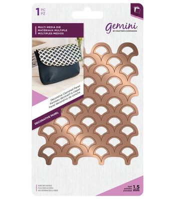 Gemini Decorative Panel Die-Clamshell
