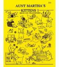 Aunt Martha Iron On Transfer Pattern Books Kittens