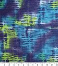 Anti-Pill Fleece Fabric -Navy & Green