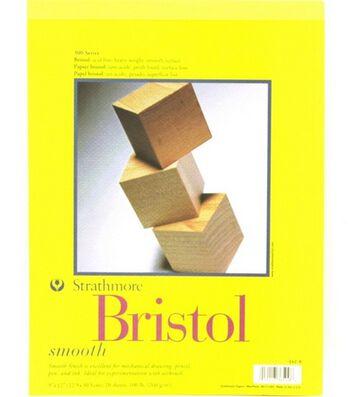 "Strathmore Bristol Smooth 9""X12"" Pad"