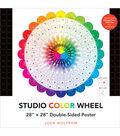 Studio Color Wheel 28\u0022X28\u0022 Double-Sided Poster-